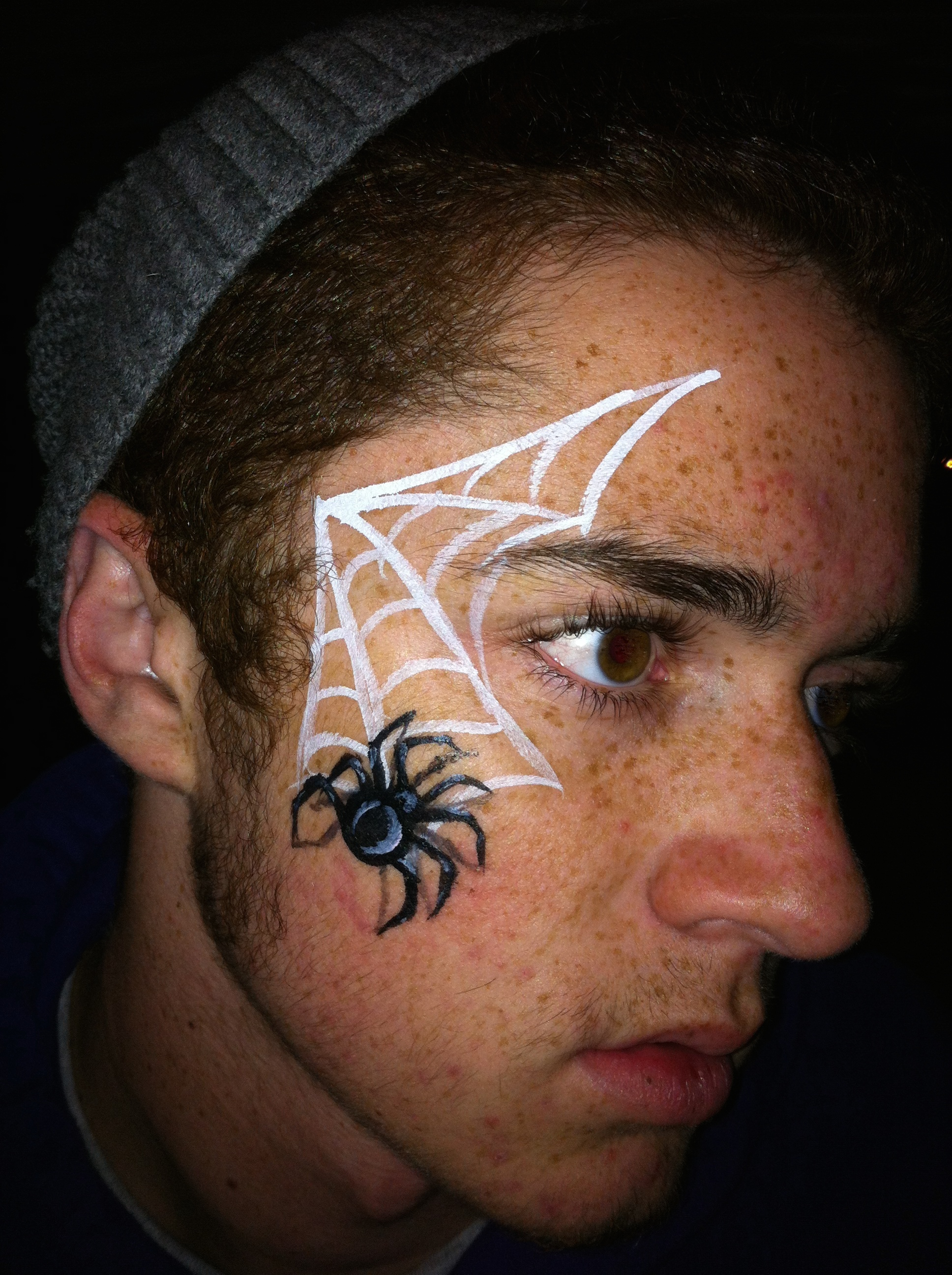Uncategorized Spiderweb Face Paint gallery whimsy face painting and body art sacramento california spider web